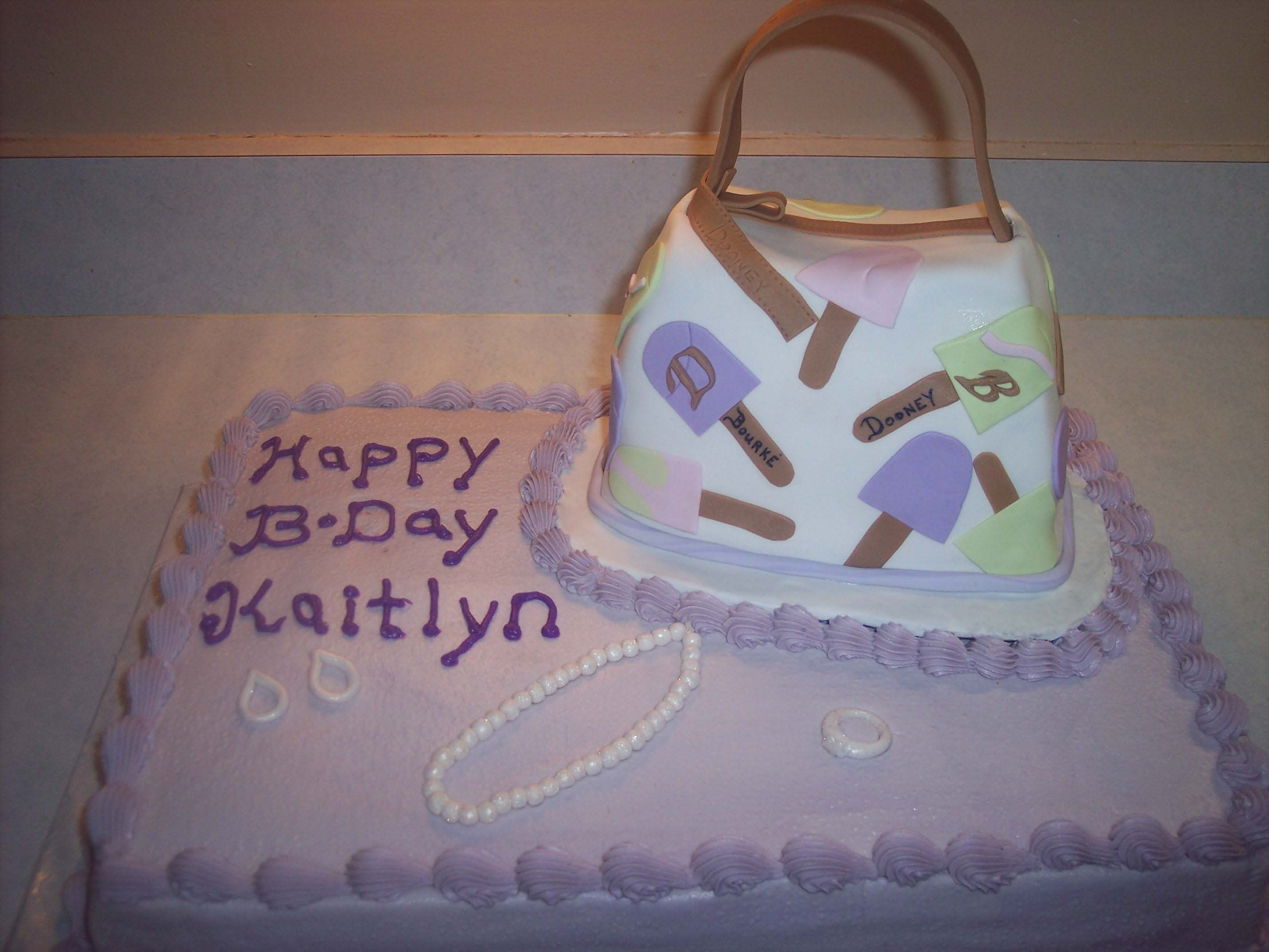 How I Created This Dooney And Bourke Purse Cake