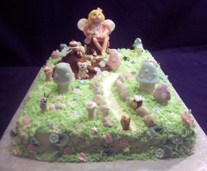 The Garden Getaway Cake