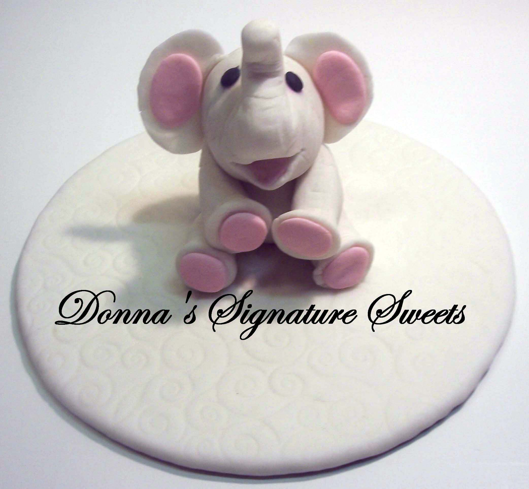 Elly S Studio Cake Design Chilliwack : Gumpaste Sculpted Animals and Figurines Are All The Rage ...