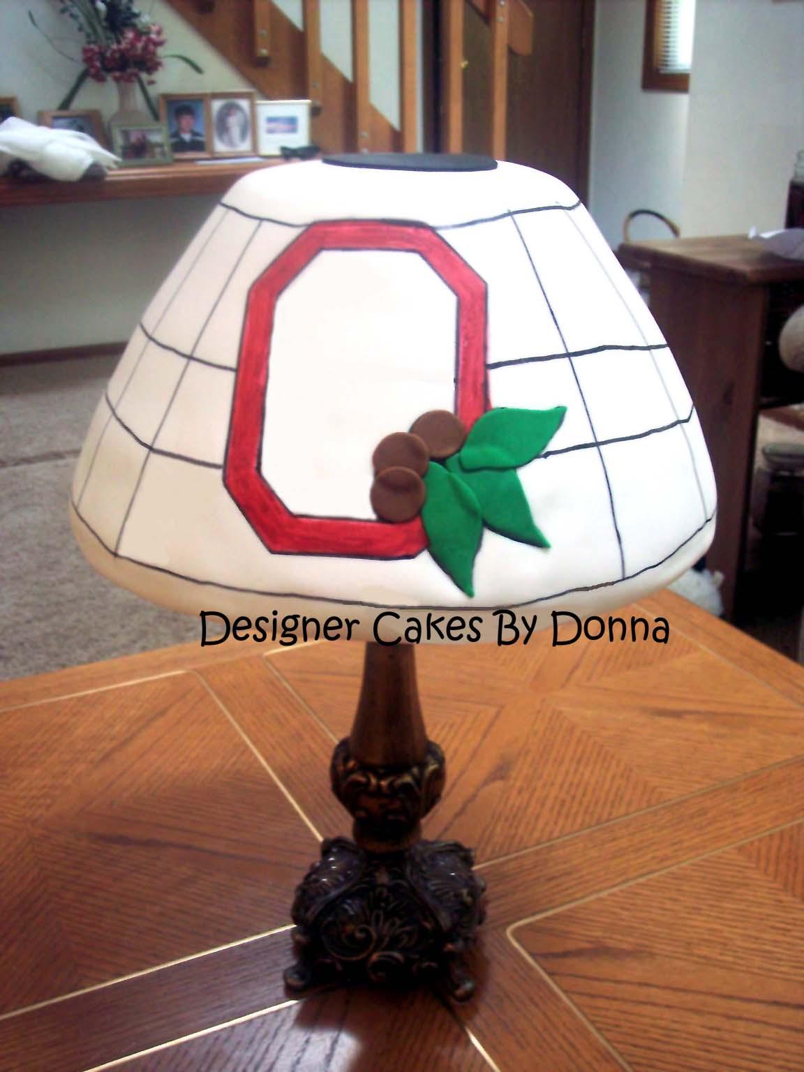 Ohio state lamp cake | The Sugar Lane