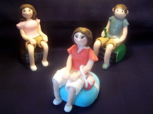 My Latest Gumpaste Figurine Family