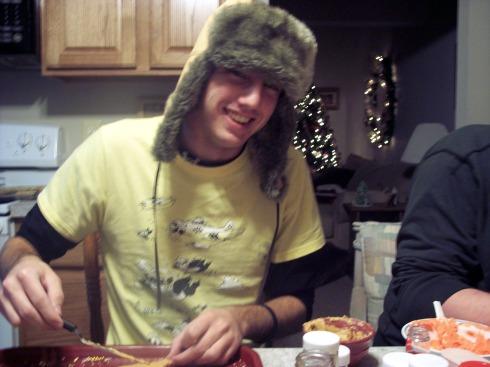 Jake decorating Sugar Cookies