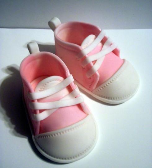 Gumpaste Baby Sneakers