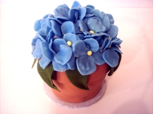 Donna's Miniature Flower Pot Cake