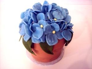 Donna's Miniature Flower Pot Cake