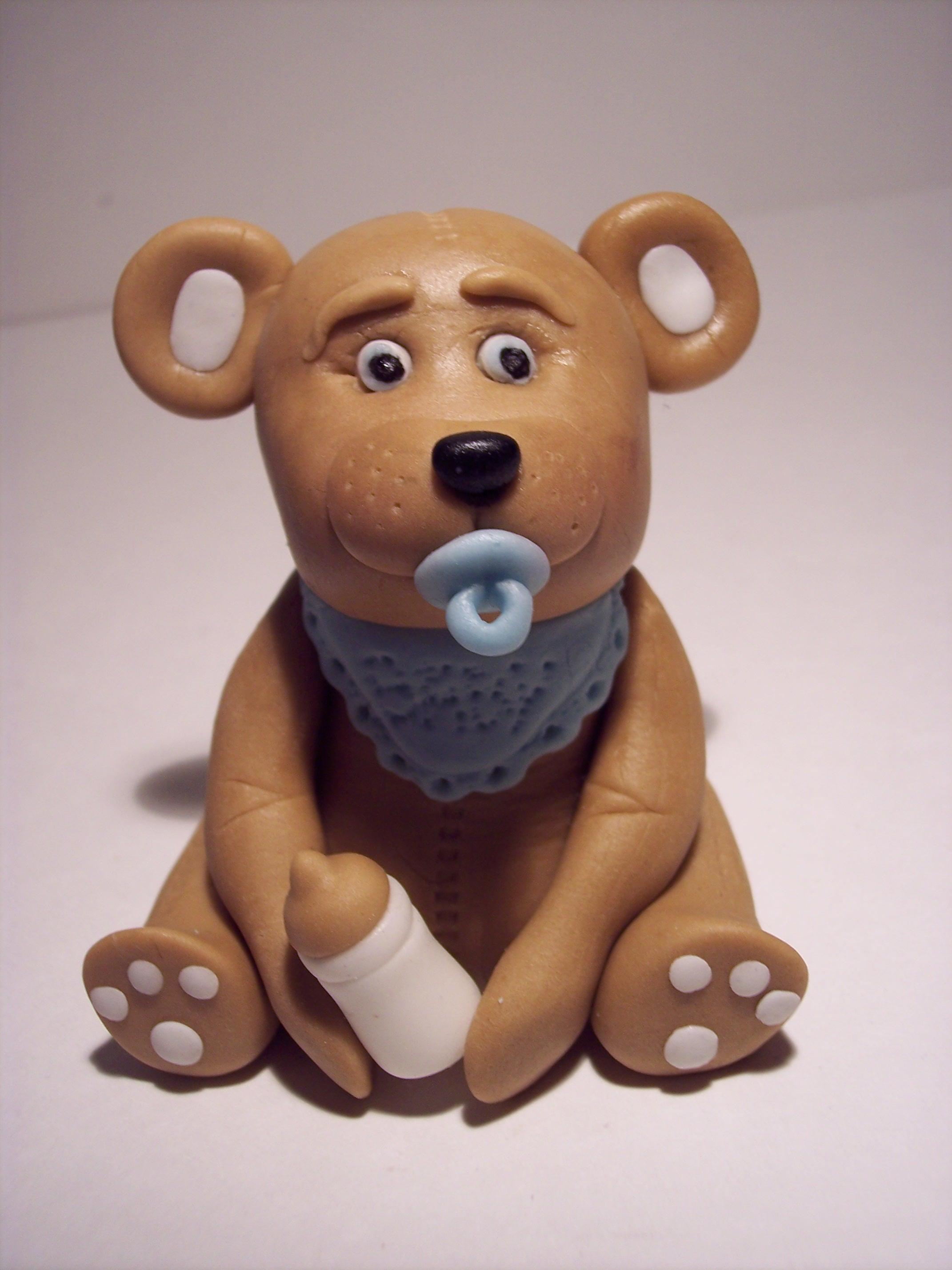 Cake Decorating Animal Figures Fondant Teddy Bear The Sugar Lane
